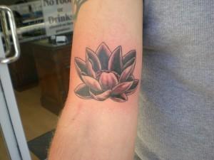 Black & Grey lotus