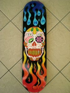 Day of the Dead Skateboard