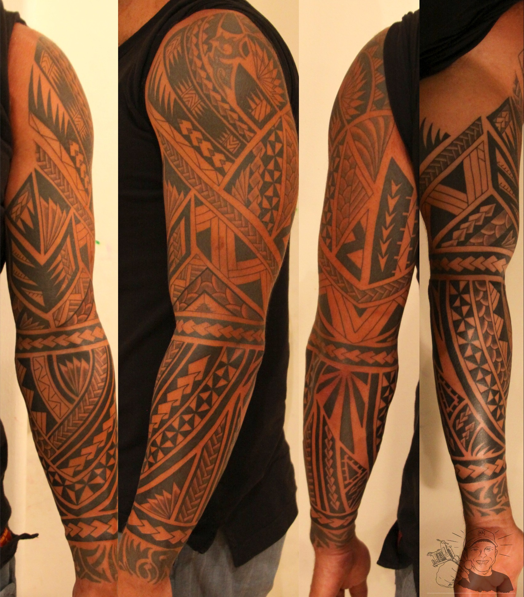maori style tattoo. Black Bedroom Furniture Sets. Home Design Ideas