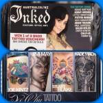 Inked magazine Dee Why Tattoo advertisement