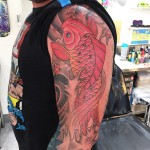 Koi 3/4 Japanese sleeve