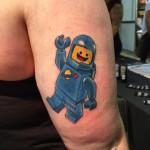 Benny Lego Tattoo