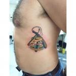 Sailor Jerry love thy neighbor tattoo