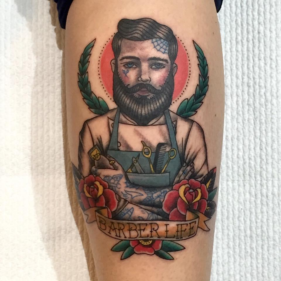 Barber Life Tattoos