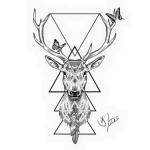 Dot work stag