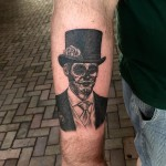 Day of the Dead gentleman tattoo