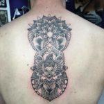 Kangaroo mandala tattoo